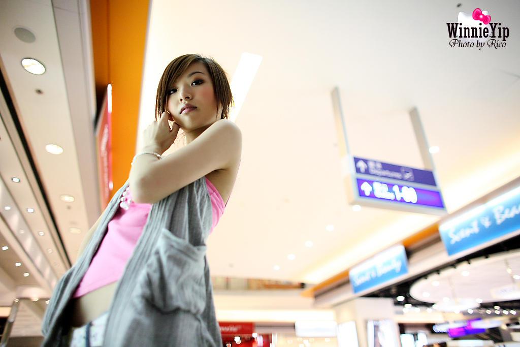 攝影作品主題:機場翔天廊-Winnie Yip[10P]