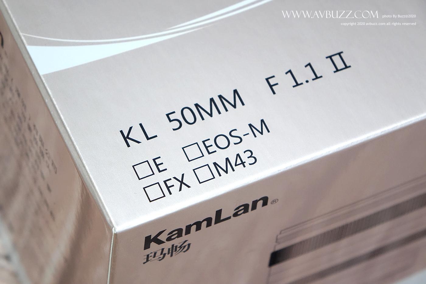 Kamlan 50mm 1.1-S00005