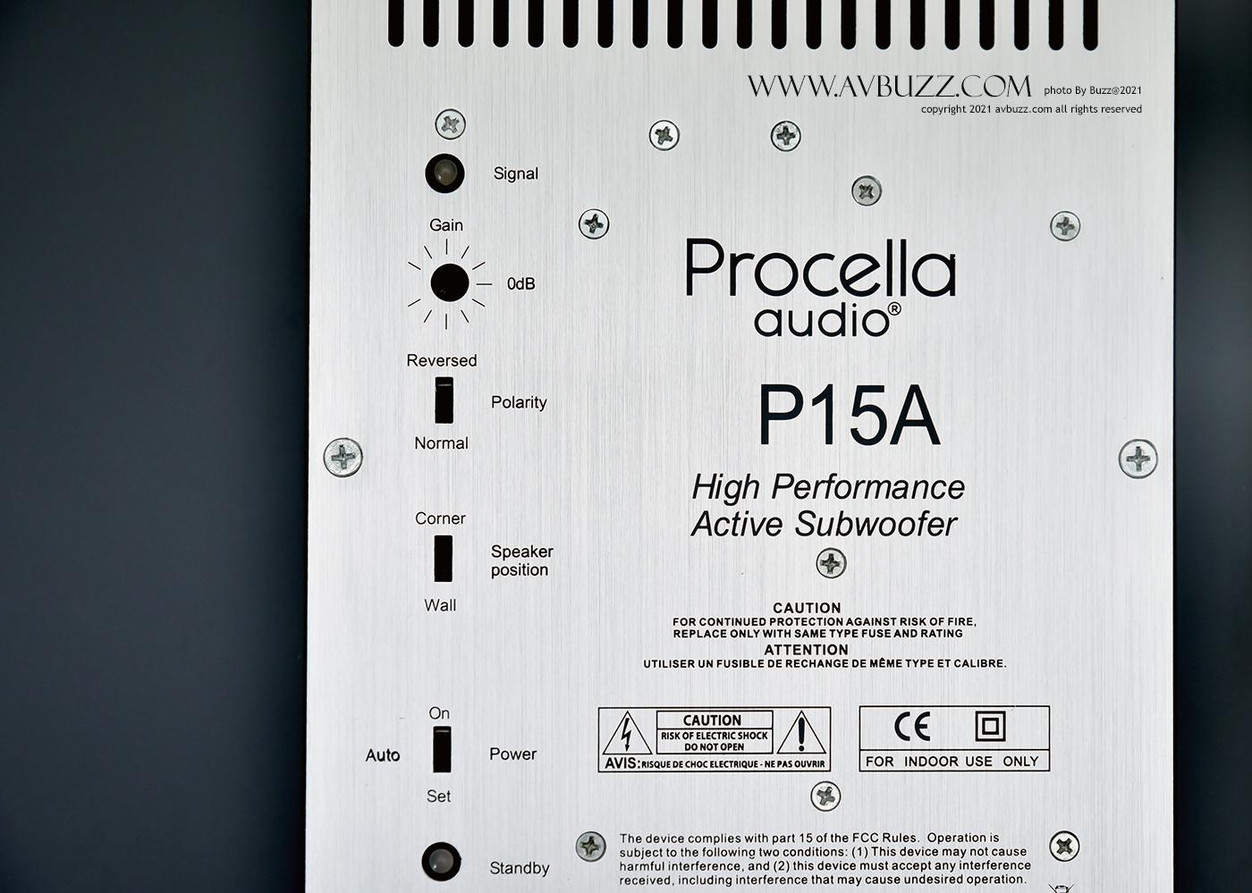 Procella Audio P15A00003